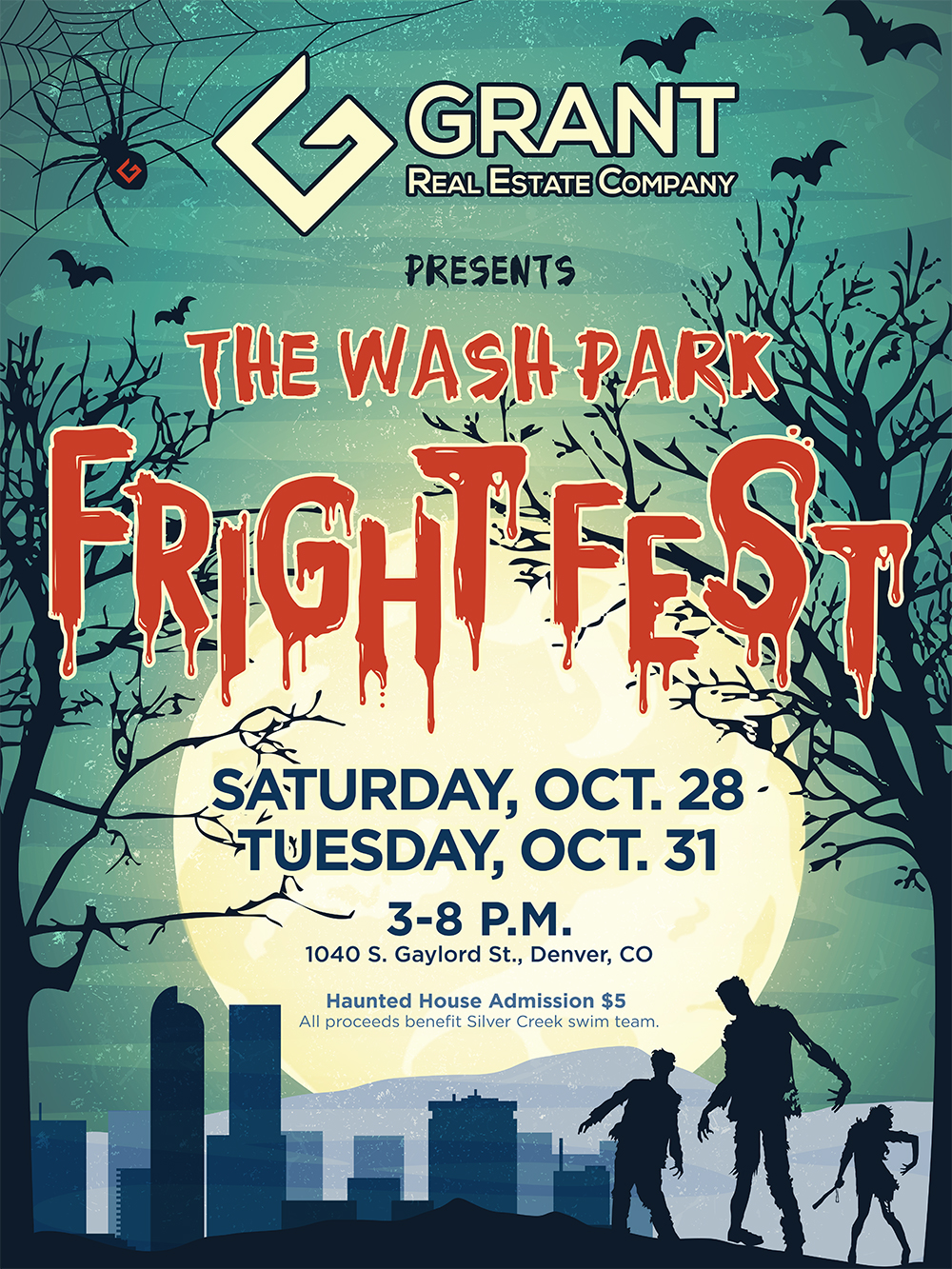 Washington Park Fright Fest 2017